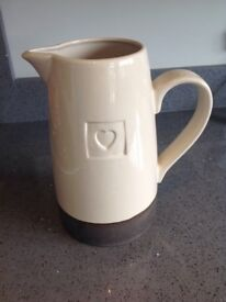 Large NEXT heart jug great condition