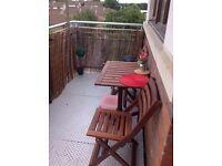Not for rent one-bedroom top floor flat Wembley Park