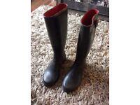 Ralph Lauren welly boots