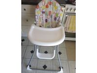 Mamas and papas High chair in good clean condition
