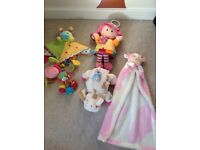 Baby soft toys very good condition!!!