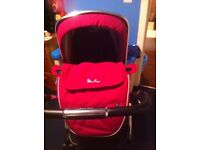 Silver Cross Wayfarer Travel System lots more purple and pink