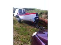 boat and trailor