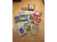 Job lot of children's games, books and jigsaws
