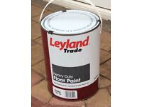 LEYLAND TRADE FLOOR PAINT ( SLATE ) 5 LR.
