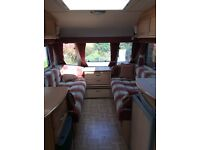 Compass Rallye 460/2 2001 Caravan ready to hitch up and go