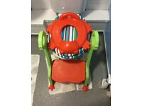 Childrens toilet seat....real helps the stage of getting children on the big toilet...very recommend