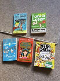 Jacqueline Wilson Tom Gates books & others
