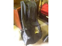 PRISTINE CONDITION - PROTECTIVE COVER/CAR BOOT BAG FOR PUSH/PULL GOLF TROLLEY