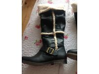 Ladies river Island boots