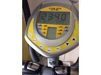 Golds gym cross trainer battery operated.