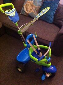 Smart Trike 3 in 1 Kids Tricycle Fresh Blue Green