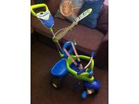 Smart Trike 3 in 1 Kids Tricycle Fresh Blue Green