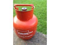Calor gas bottle 3.9kg full and unused