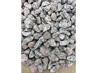 Silver grey granite garden and driveway chips/gravel