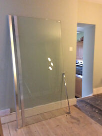 Roman Showers Embrace Wetroom Corner Panel