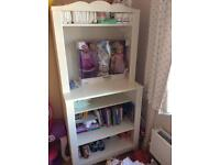 Ikea shelving unit/baby changing unit
