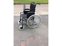 "Brand new self propelled wheelchair 18"""