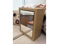 Mirrored Bathroom Cabinet with shelf