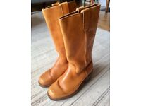 Cowboy style boots, size 8.5