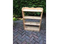 Used pine Book Case.