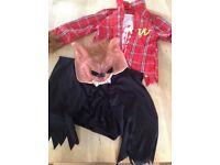 Boys Halloween werewolf costume