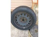 Skoda full size spare wheel