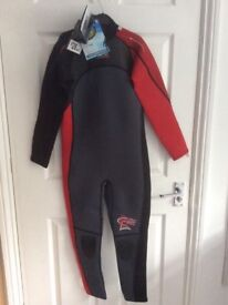 Brand new boys wetsuit