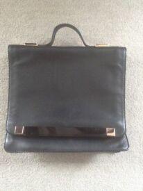Ted Baker handbag ( black and rose gold)