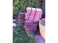 New and used roof tiles