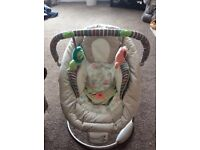 ingenuity cozy kingdom baby bouncer