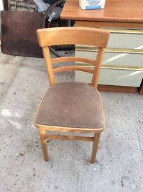 Kitchen or bedroom chair