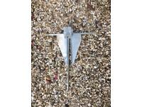 Danforth anchor 15lb hooker brand unused ideal for sailing or fishing or general boating vgc £25