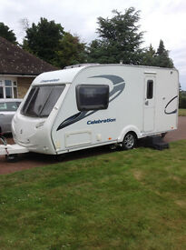 Sterling Celebration 480, 2011, 2 berth with Mover & Awning.