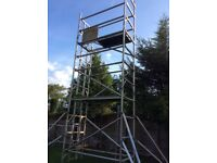 Used Aluminium schaffold tower