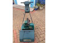 """Suffolk punch 35S 14"""" Petrol Cylinder Lawnmower"""