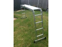 4.7M folding multi position ladder/platform
