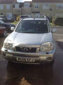Nissan X trail 2.2dci 2006 161bhp. Full black leather in vgc.