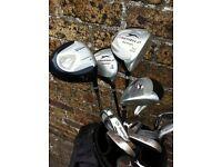 Slazenger Firesteel 2 golf club set (Clubs - bags etc)