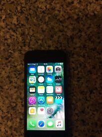 I phone 5s 16gb unlocked 120 Ono