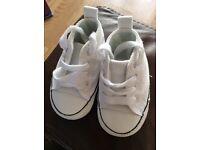 Baby crib converse shoes