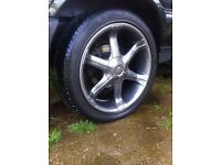 to fit range rover p38 alloy wheels 20inch antera's