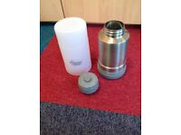 Tommee tippee closer to nature travel bottle warmer flask