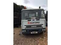 Iveco cargo 6 cylinder underram tipper