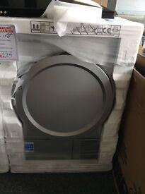 Silver Beko tumble dryer RRP £299. New/graded
