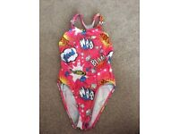 Girls MARU Swimming costume with racer style back 32""