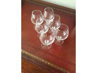 Six NEW Brandy Glasses