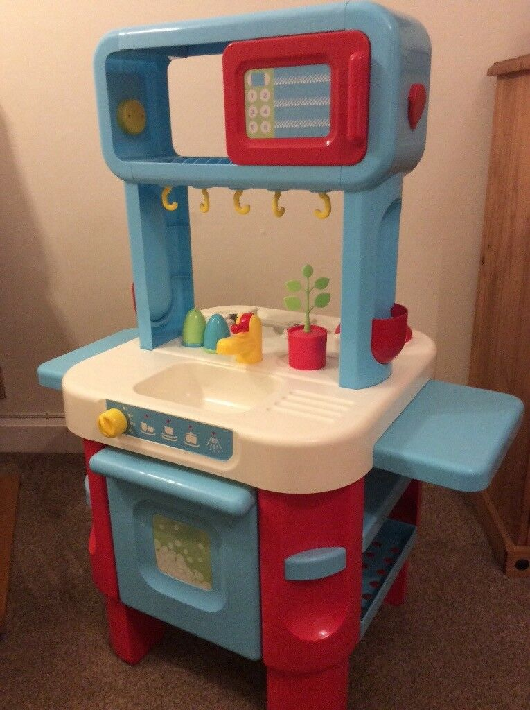 ELC Toy Kitchen and Shopping Trolley