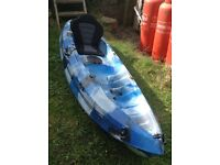 Kayak-galaxy fudgo 6ft8