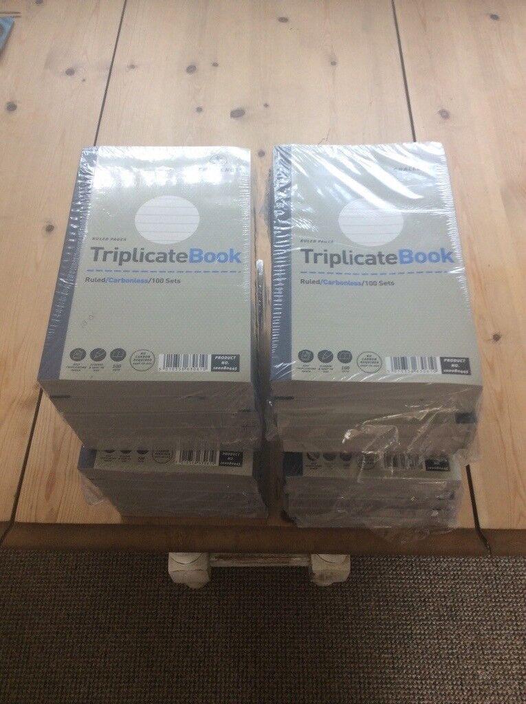 Triplicate books for sale